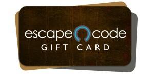 Escape Code Gift Card