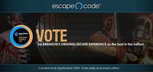 Vote for Escape Code | USA Today 10Best