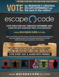 Escape Code USA Today 10Best