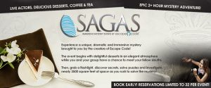 Sagas | Immersive Mystery Events by Escape Code