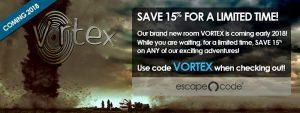 Save at Escape Code
