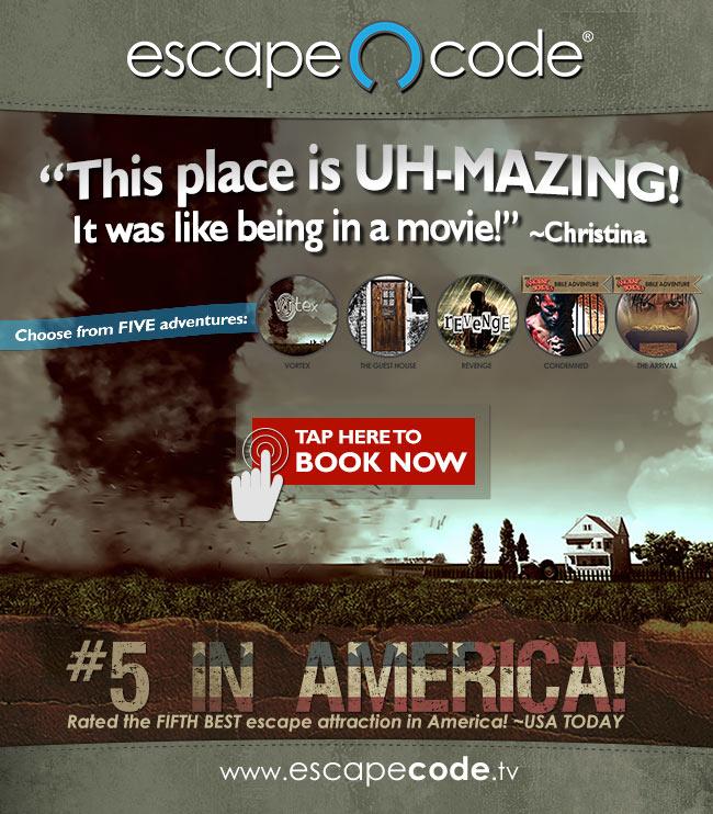Escape Code Booking
