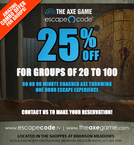 Escape Code and The Axe Game Combo